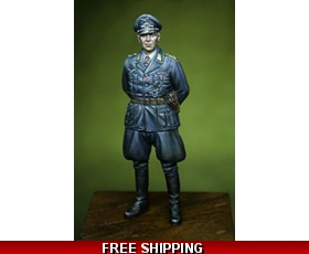 "Qing Yi Miniatures WWII LUFTWAFFE OFFICER 1/32 ""Free Air Shipping"""