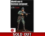 "Qing Yi Miniatures WWII German Sergeant 1/35 ""Fr.."