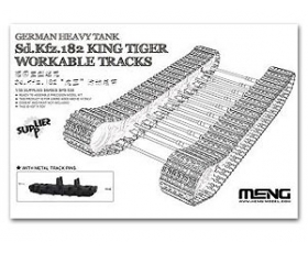 Meng Model Sd.Kfz.182 King Tiger Workable Tracks 1/35