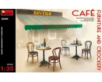 MiniArt Café Furniture & Crockery 1/35