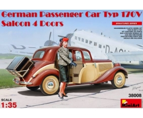 MiniArt German Passenger Car Type 170V Saloon 1/35