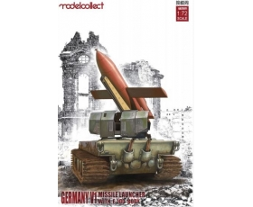 Modelcollect Germany V1 Missile Launcher with E-100 Body 1/72