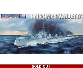Showcase Models HMS HMAS Vendetta 1/350