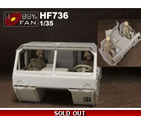 "Hobby Fan U.S. Army M983 Hemtt OIF ACU Driver Crews - 2 Figures 1/35 ""Free Air Shipping"""