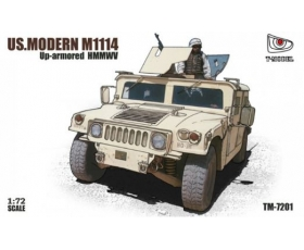 T-MODEL Up-armored HMMWV US. Modern M1114 1/72