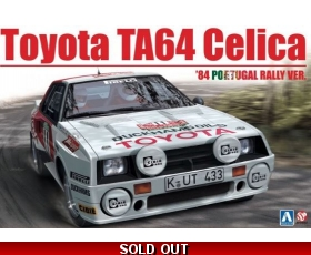 Beemax Toyota TA64 Celica 84' Portugal Rally Ver. 1/24