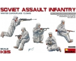 MiniArt Soviet Assault Infantry Winter Camouflag..