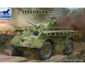 Bronco T17E1 STAGHOUND MK.I Armored Car Late Production 1/35