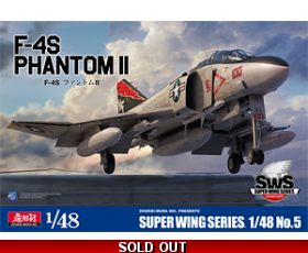 Sws Super Wing Series F-4S PHANTOM II 1/48