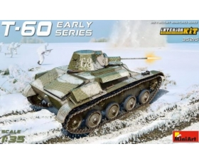 MiniArt Soviet Soviet Light Tank T-60. Interior Kit 1/35