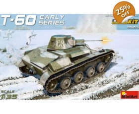 MiniArt Soviet Soviet Light Tank T-60 Interior Kit 1/35