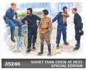 MiniArt Soviet Tank Crew at Rest Special edition 1/35