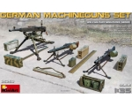 MiniArt German Machineguns set MG-34,MG-42,ZB-53..