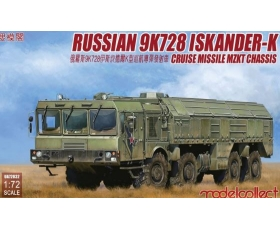 Modelcollect Russian 9K728 Iskander-K Cruise Missile MZKT Chassis 1/72
