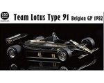 Ebbro Team Lotus Type91 Belgian GP 1982 1/20