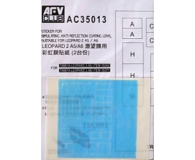 AFV Club LEOPARD 2 A5/A6 ANTI REFLECTION LENS 1/35