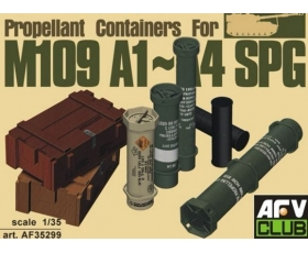 AFV Club Propellant containers for M103 A1-A4 SPG 1/35