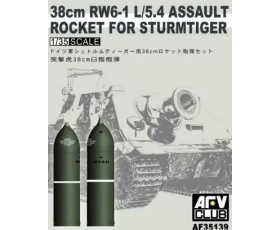 AFV Club  8cm RW6-1 L/5.4 Assault Rocket for Sturmtiger 1/35