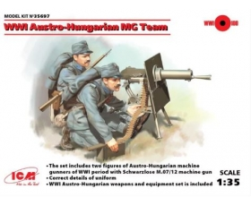 ICM WWI Austro-Hungarian MG Team 1/35