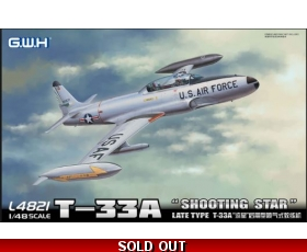 Great Wall Hobby Late Type T-33A 'SHOOTING STAR' 1/48