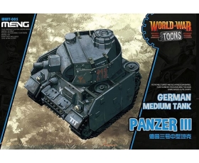 Meng Model World War Toons German Medium  Tank Panzer III 1/35