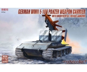 Modelcollect German WWII E-100 Panzer Weapon Carrier 1/72
