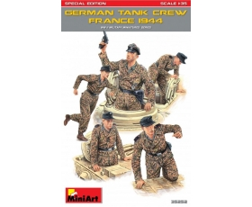 MiniArt GERMAN TANK CREW FRANCE 1944. SPECIAL EDITION 1/35