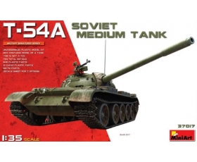 MiniArt  Soviet Medium Tank T-54A No Interior 1/35