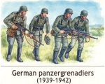 Master Box German panzergrenadiers, 1939-1942 1/35