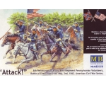 Master Box Attack!8th Pennsylvania Cavalry Regim..