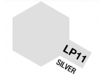 Tamiya Lacquer Paint 10ml SILVER LP-11