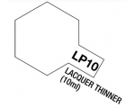 Tamiya Lacquer Paint 10ml LACQUER THINNER LP-10