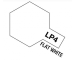 Tamiya  Lacquer Paint 10ml FALT WHITE LP-4