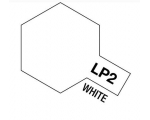 Tamiya  Lacquer Paint 10ml  WHITE LP-2