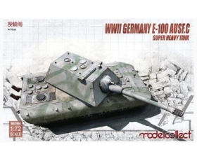 Modelcollect WWII Germany E-100 Ausf. C SUPER HEAVY TANK 1/72
