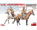 MiniArt U.S. HORSEMEN. NORMANDY 1944 1/35