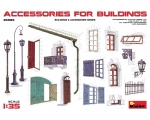 MiniArt ACCESSORIES FOR BUILDINGS 1/35