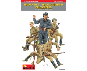 MiniArt SOVIET SOLDIERS RIDERS SPECIAL EDITION 1/35