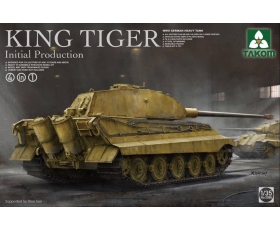 Takom WWII German Heavy Tank King Tiger Initial production 4 in 1 1/35