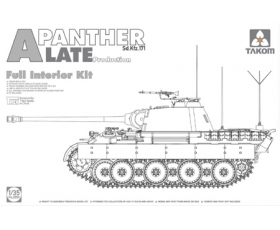 Takom Sd.Kfz.171 Panther A late full interior 2 in 1 1/35
