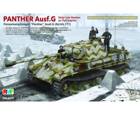 Rye Field Model Panther Ausf.G Early/Late w/full interior Sd.kfz.171 1/35
