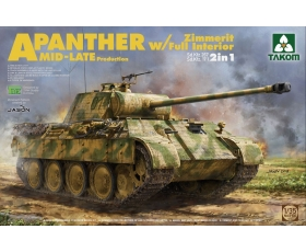 Takom Panther Ausf. A Mid-Late production with Zimmerit & full interior 1/35