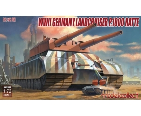 Modelcollect WWII German Landcruiser P.1000 ratte 1/72