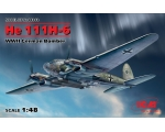 ICM He 111H-6, WWII German Bomber 1/48