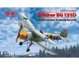 ICM Bucker Bu 131D, WWII German Training Aircraft 1/32