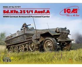 ICM Sd.Kfz.251/1 Ausf.A German Armoured Personnel Carrier 1/35