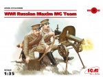 ICM WWI Russian Maxim MG Team 1/35