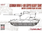 Modelcollect German WWII E-100 super heavy tank ..
