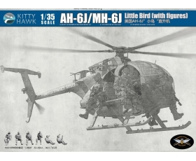 Kitty Hawk AH-6J/MH-6J Little Bird with Figures 1/35