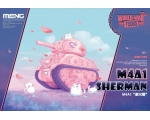 Meng M4A1 Sherman World War Toons Cute Tank